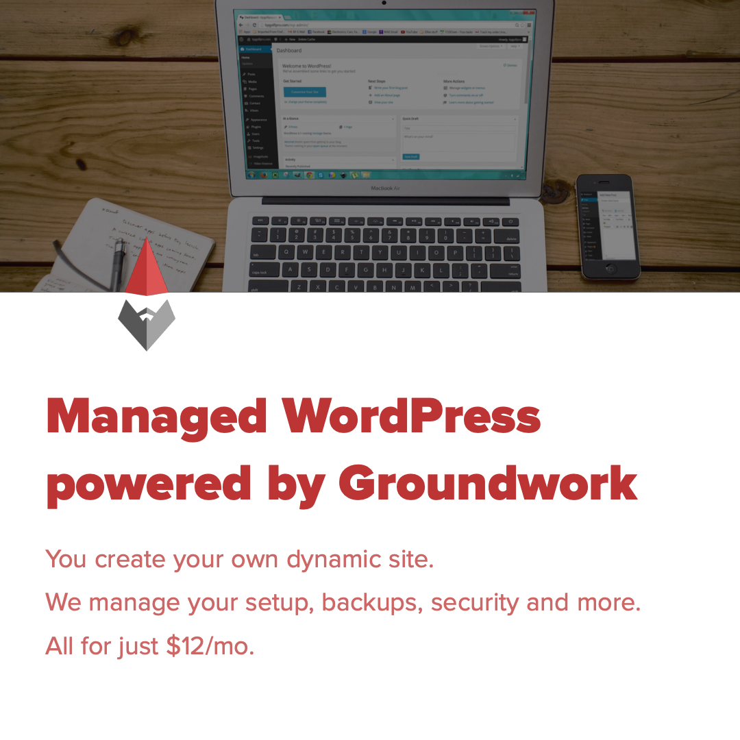Groundwork WordPress Hosting
